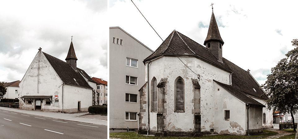 Ansicht Linzerstraße & Ansicht Chor